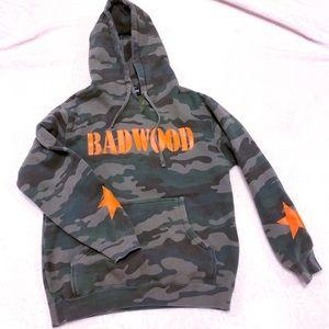 BADWOOD CAMO HOODIE